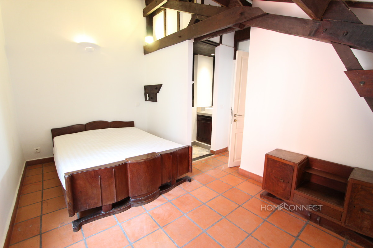 French Colonial 2 Bedroom Apartment On Riverside Phnom Penh Apartments V