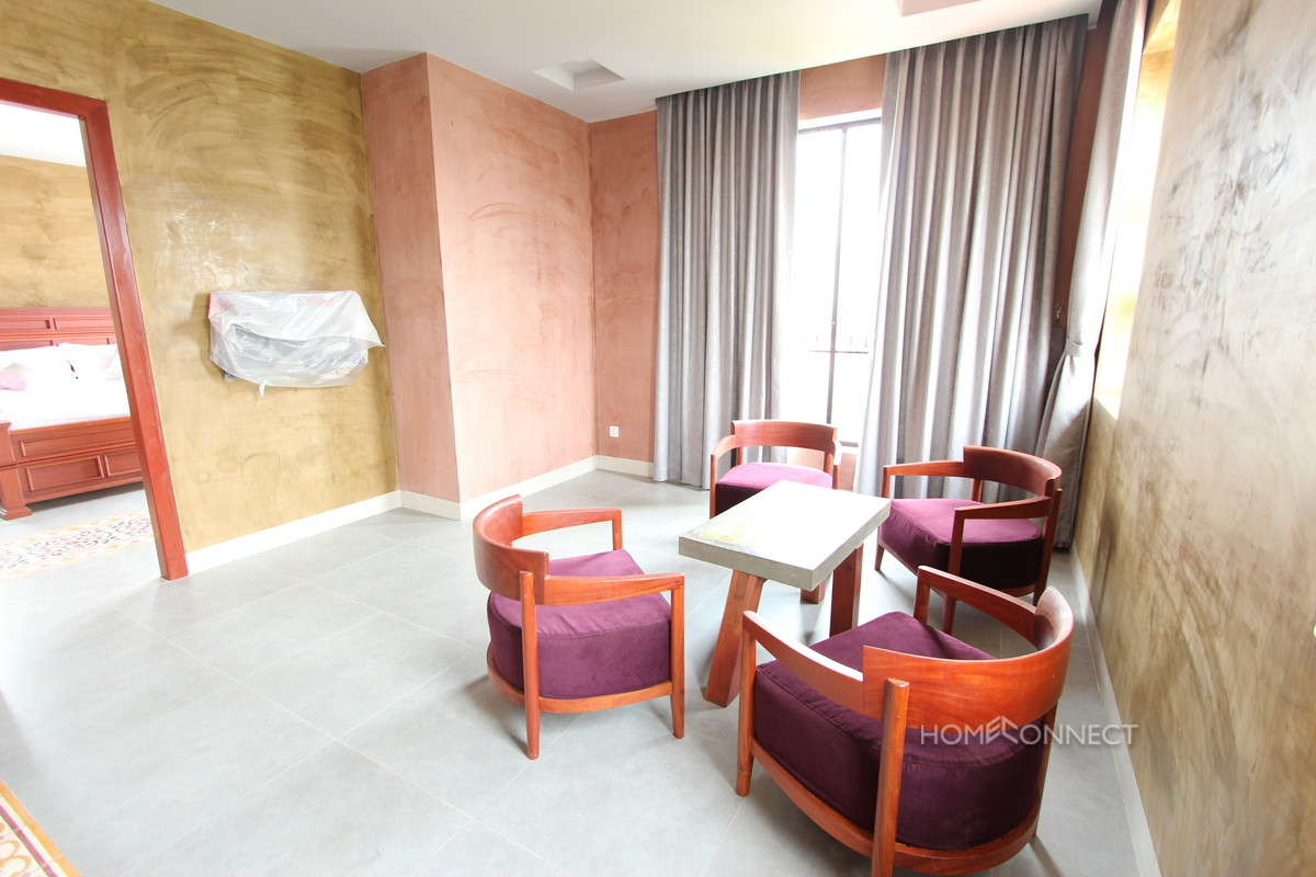 Newly Constructed 2 Bedroom Apartment in Tonle Bassac | Phnom Penh