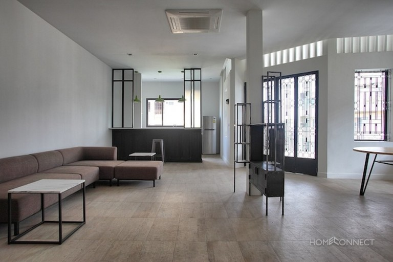 Newly Renovated 2 Bedroom Apartment For Rent Near Riverside   Phnom Penh