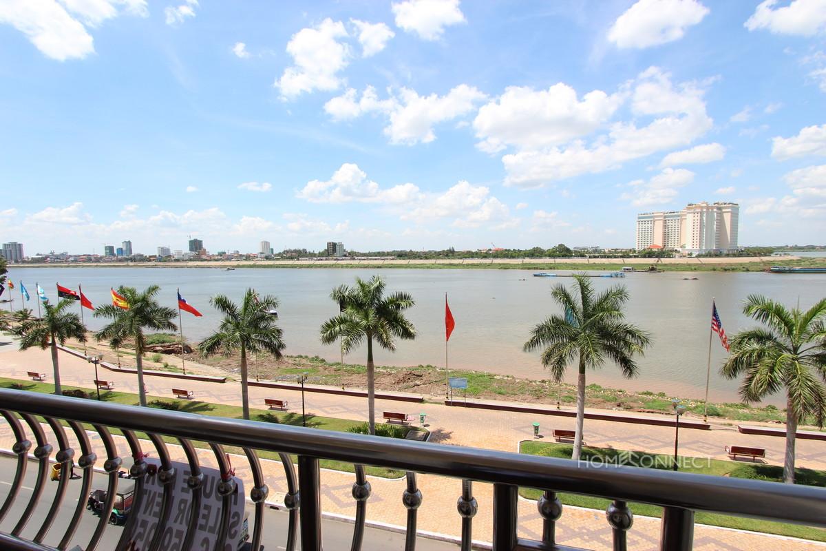 Riverside Apartment with Fantastic Views for Rent   Daun Penh Real Estate
