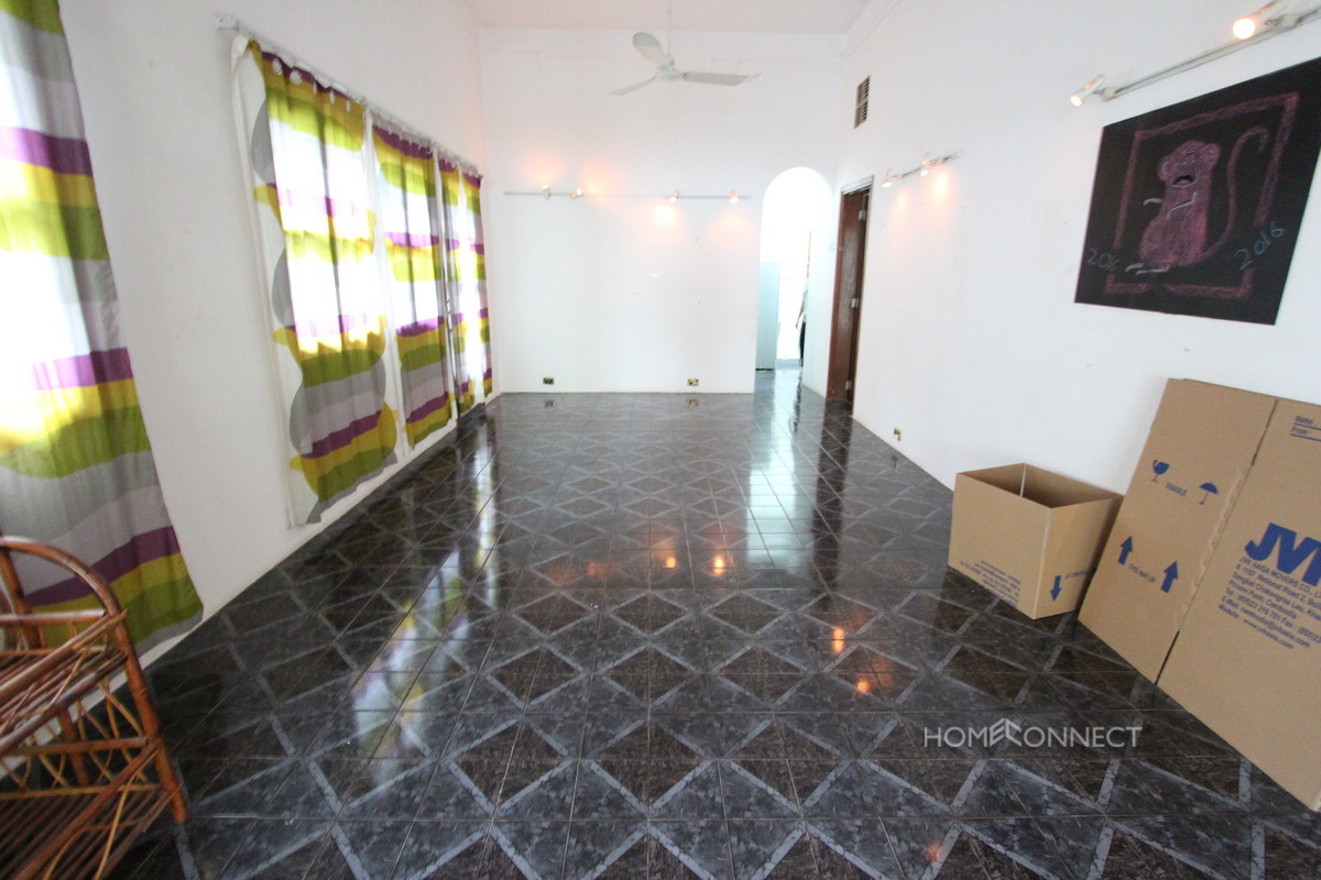 Family Sized Villa For Rent With A Pool In Tonle Bassac | Phnom Penh