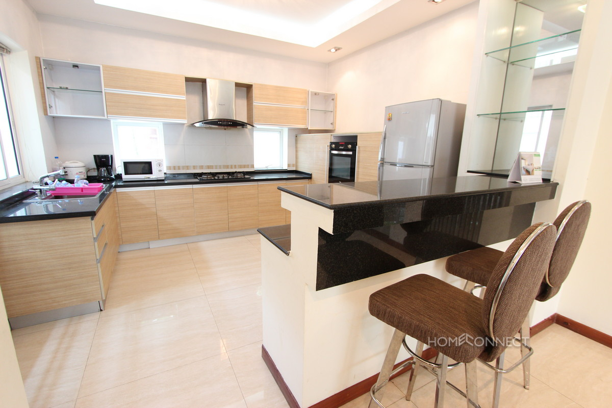 Modern 3 Bedroom Villa Located In Tonle Bassac   Phnom Penh Real Estate