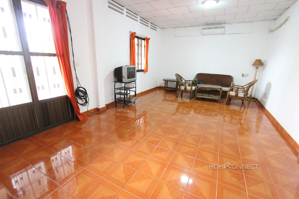 Large Apartment With Terrace in BKK1 | Phnom Penh Real Estate