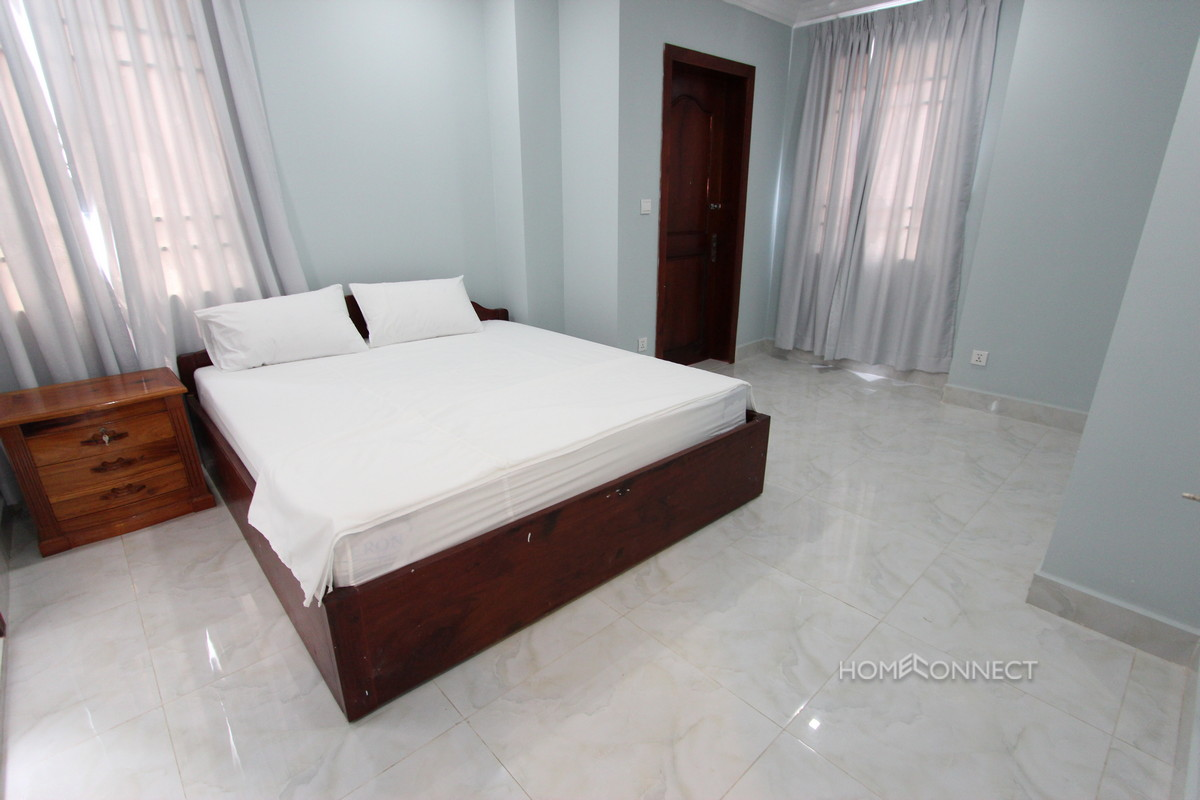 Modern 1 Bedroom Serviced Apartment Close to Russian Market | Phnom Penh Real Estate