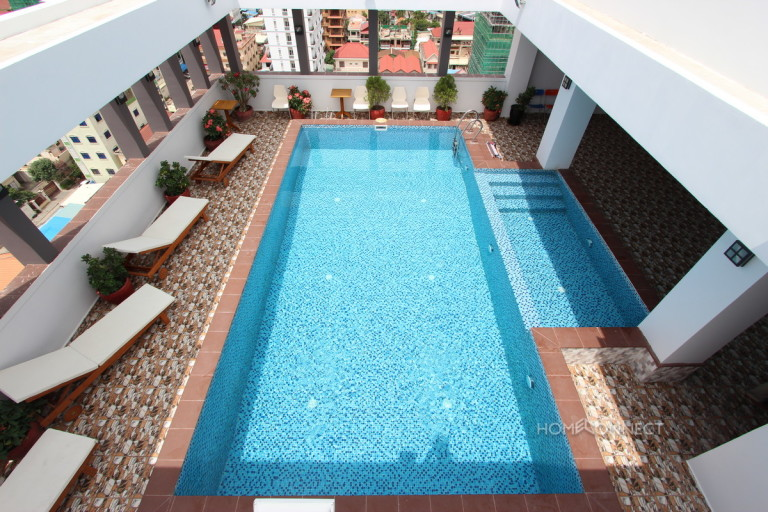 Modern 2 Bedroom Serviced Apartment Close to Russian Market   Phnom Penh Real Estate
