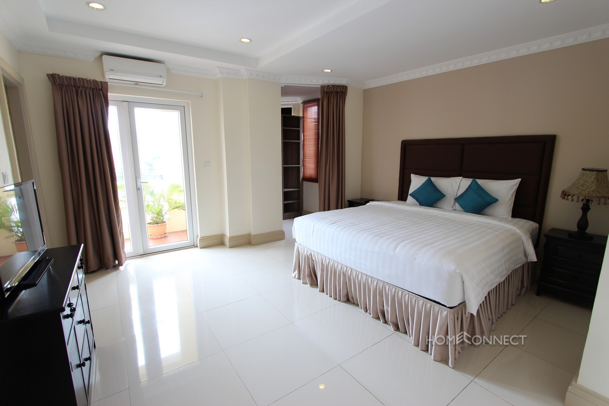 Striking 2 Bedroom Apartment Near The Royal Palace Phnom Penh Apartments