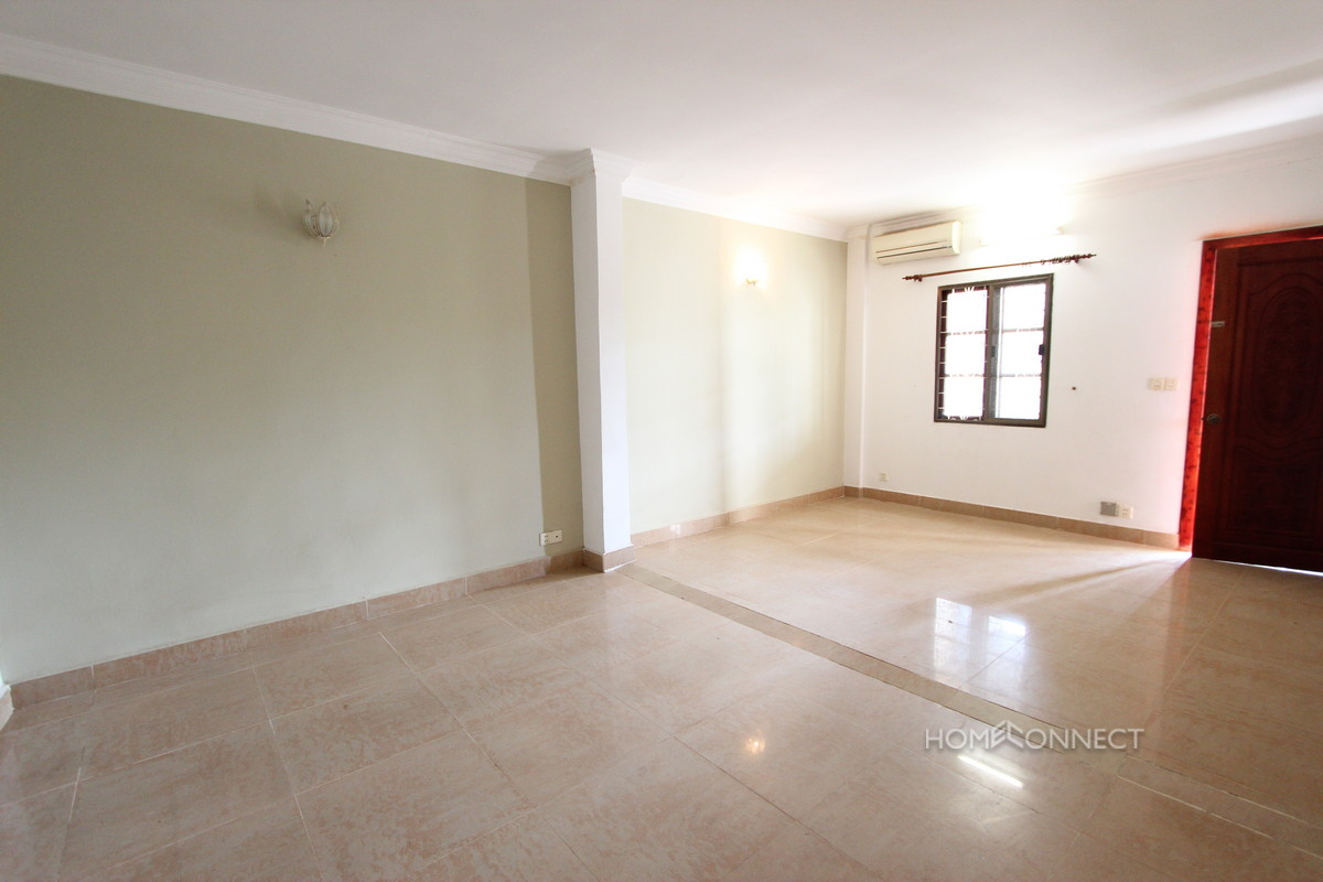 Large Terraced 2 Bedroom Apartment in BKK1 | Phnom Penh Real Estate
