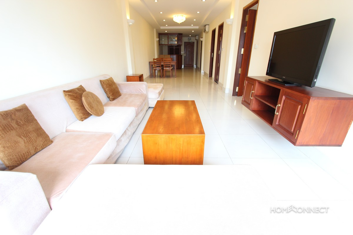 Handsome 2 Bedroom Apartment For Rent In The Heart Of Bkk1