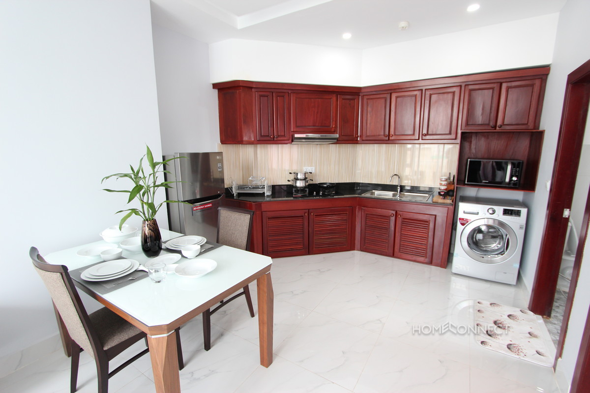 Modern One Bedroom Apartment in Central BKK1 | Phnom Penh Real Estate