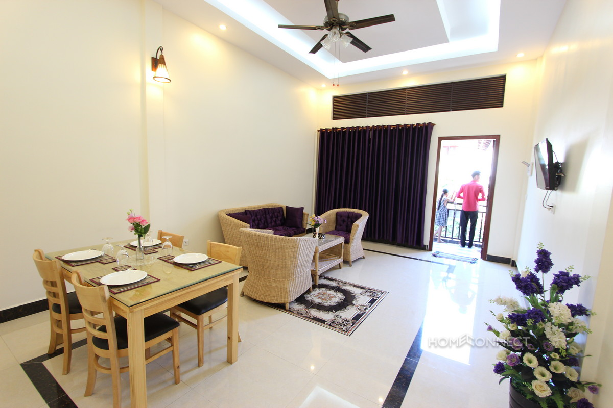 Tidy 1 Bedroom Apartment Close To the Royal Palace For Rent | Phnom Penh Real Estate