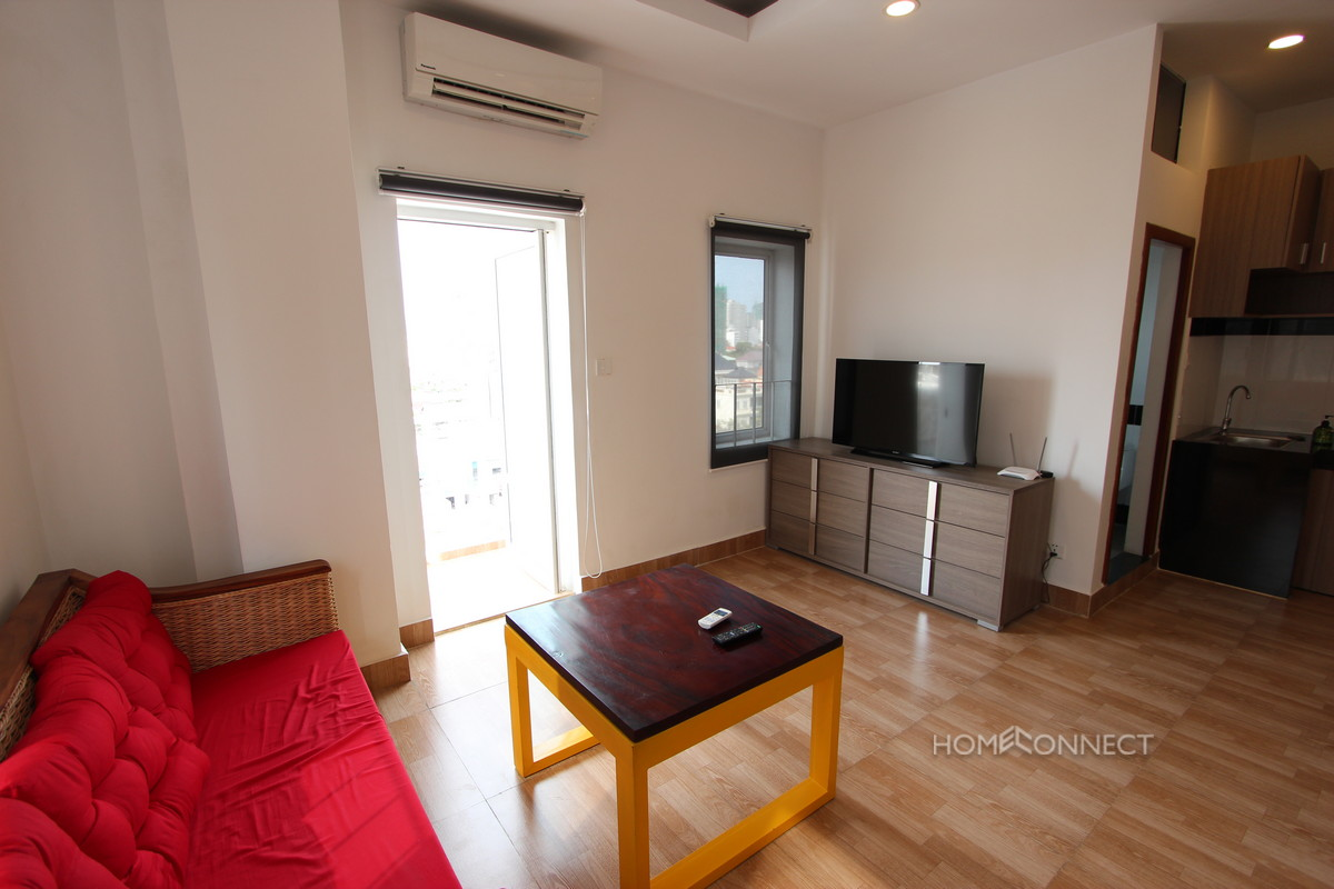 Budget Modern Studio Near the Russian Market | Phnom Penh Real Estate