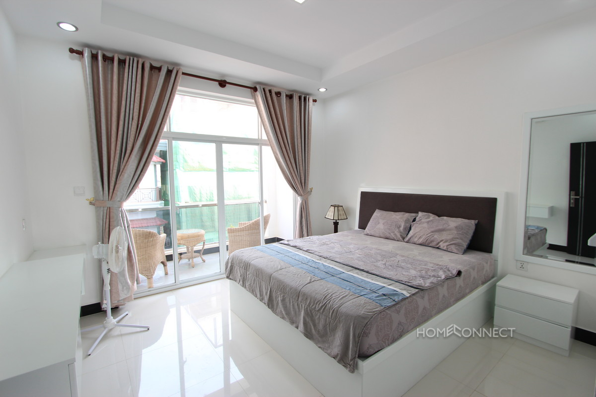 modern 1 bedroom apartment for rent in bkk2 phnom penh apartments