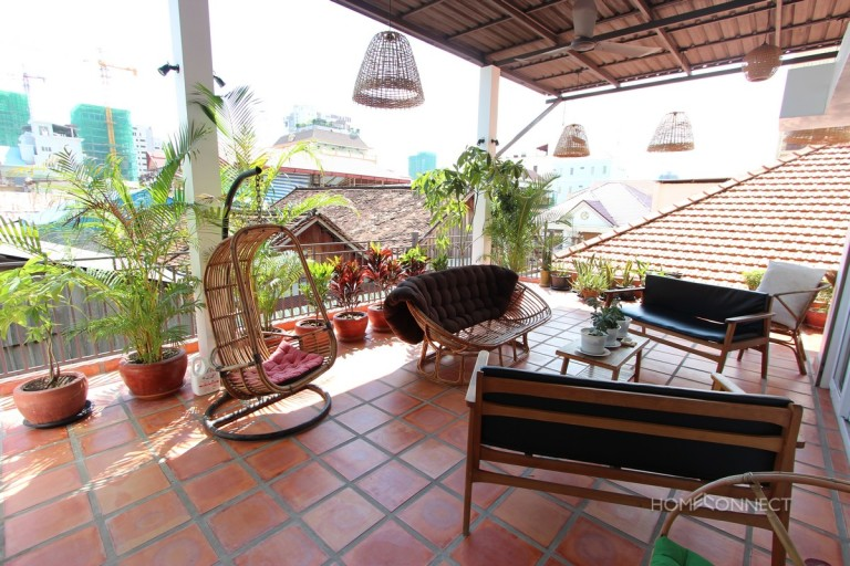 Beautiful 3 Bedroom Apartment For Rent in BKK1 | Phnom Penh Real Estate