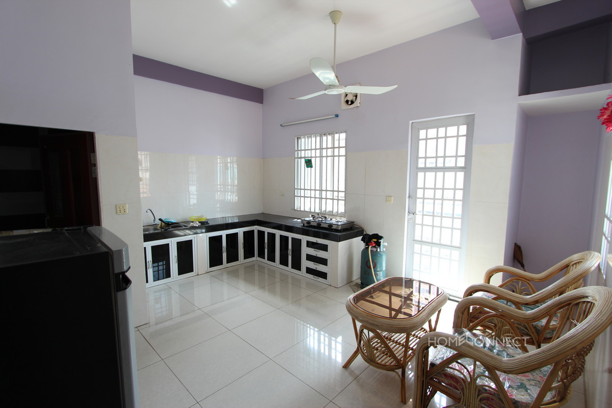 Pleasant and Affordable 1 Bedroom Apartment in BKK2 | Phnom Penh Real Estate