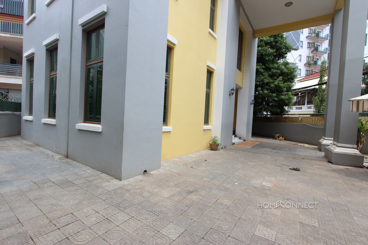 Large Residential/Commercial Villa in the Heart of BKK1 | Phnom Penh Real Estate