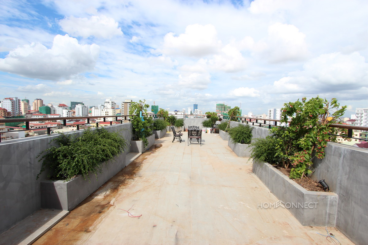 Exciting and New 1 Bedroom Apartment Near the Russian Market | Phnom Penh Real Estate