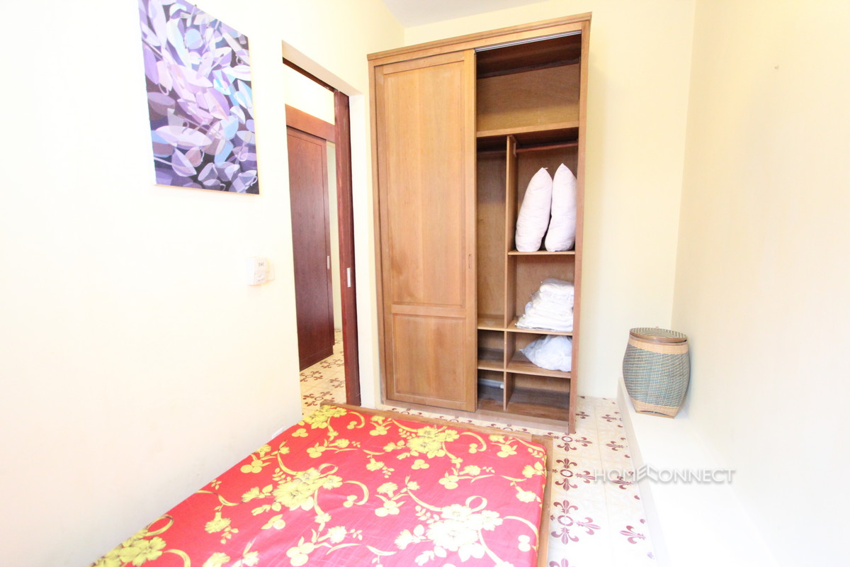 Colonial 2 Bedroom Apartment For Rent Near Riverside Phnom Penh Apartment