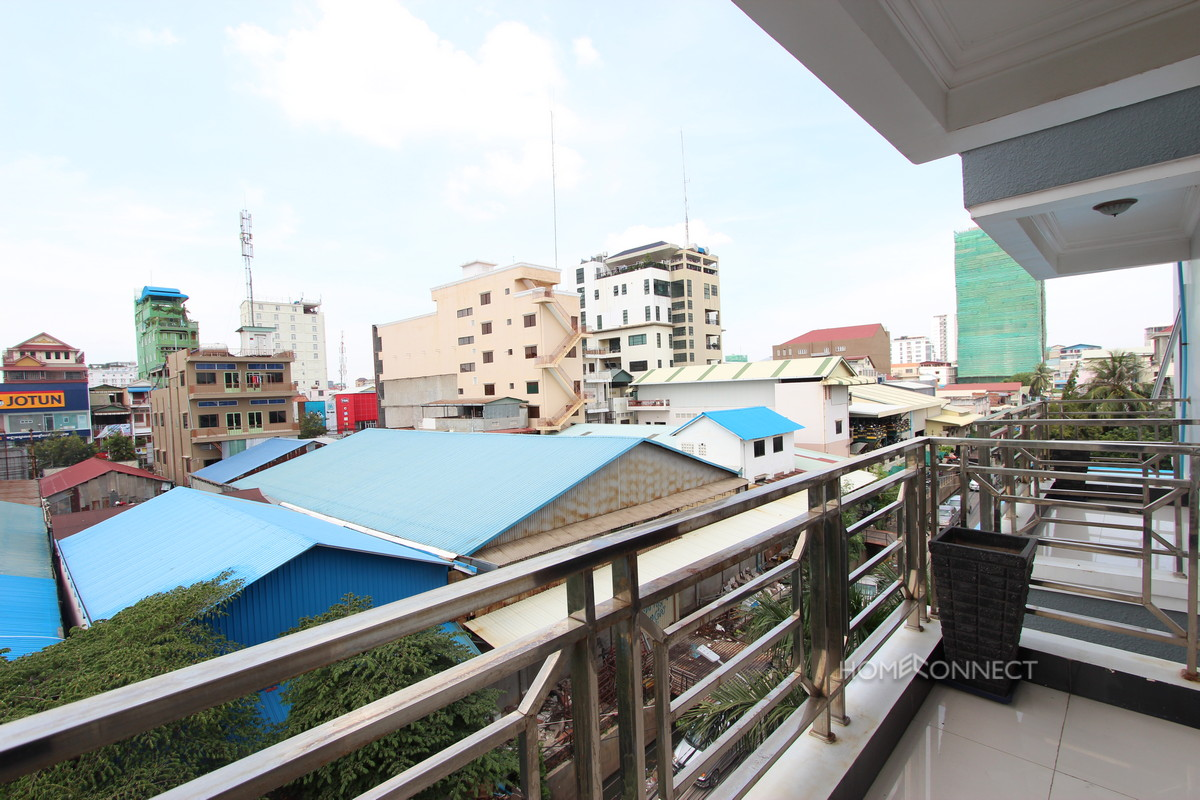 Modern 1 Bedroom 1 Bathroom Apartment in BKK3 | Phnom Penh Real Estate