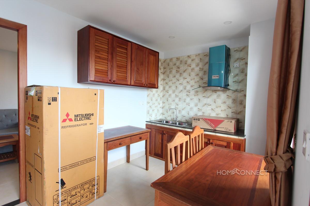 Brand New 1 Bedroom 1 Bathroom Apartment East of Russian Market | Phnom Penh Real Estate