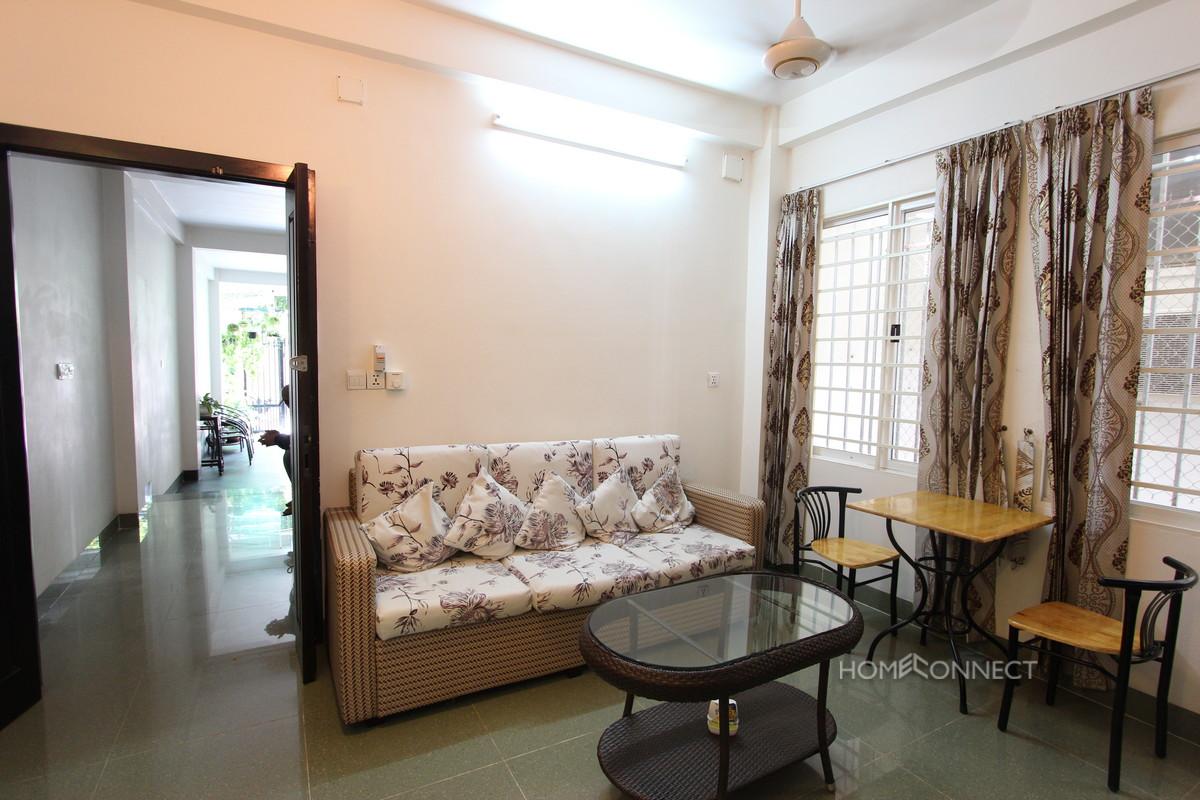Modern 1 Bedroom 1 Bathroom Apartment Close to Russian Market | Phnom Penh Real Estate