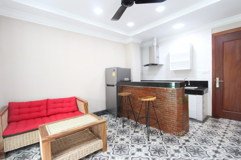 Modern 2 Bedroom 2 Bathroom Apartment For Rent in Daun Penh | Phnom Penh Real Estate Phnom Penh