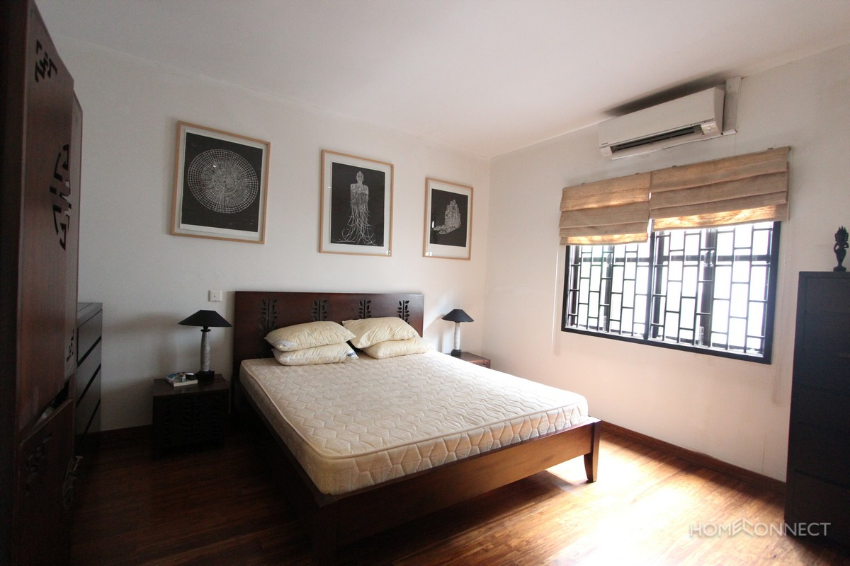 French Colonial 2 Bedroom 2 Bathroom Near the Royal Palace   Phnom Penh Real Estate