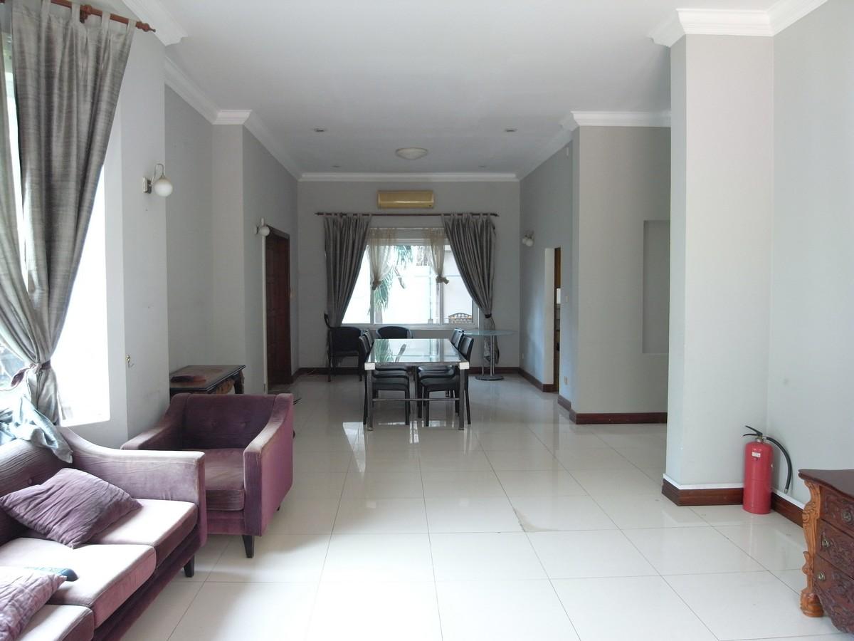 Large Garden 5 Bedroom Villa For Rent In Tonle Bassac | Phnom Penh Real Estate