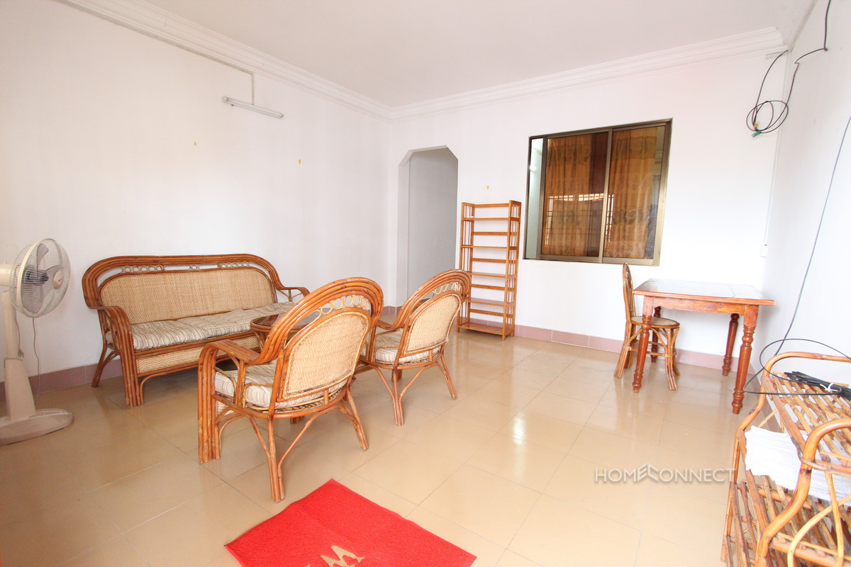Comfortable 1 Bedroom 1 Bathroom Apartment for Rent in Daun Penh | Phnom Penh Real Estate