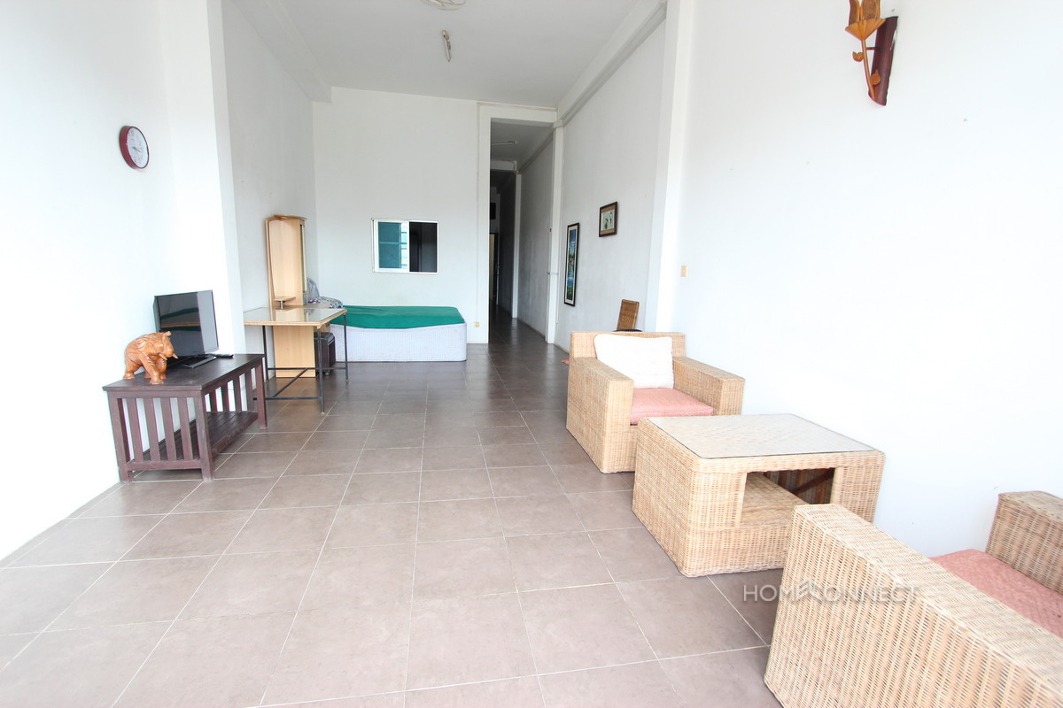 Budget 1 bedroom 1 bathroom apartment for rent near old market phnom penh apartments villas for Apartment 1 bedroom 1 bathroom