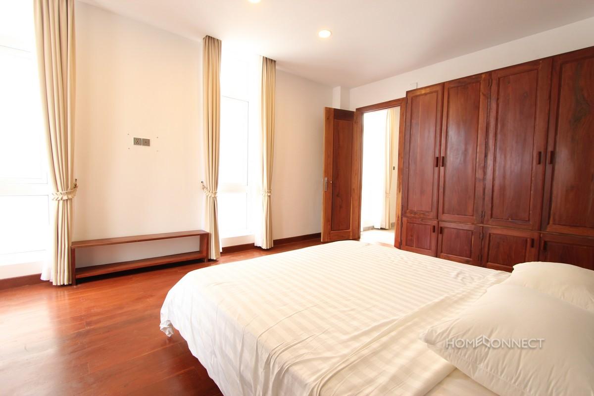Modern Serviced 2 Bedroom 3 Bathroom Apartment for Rent in BKK1 | Phnom Penh Real Estate