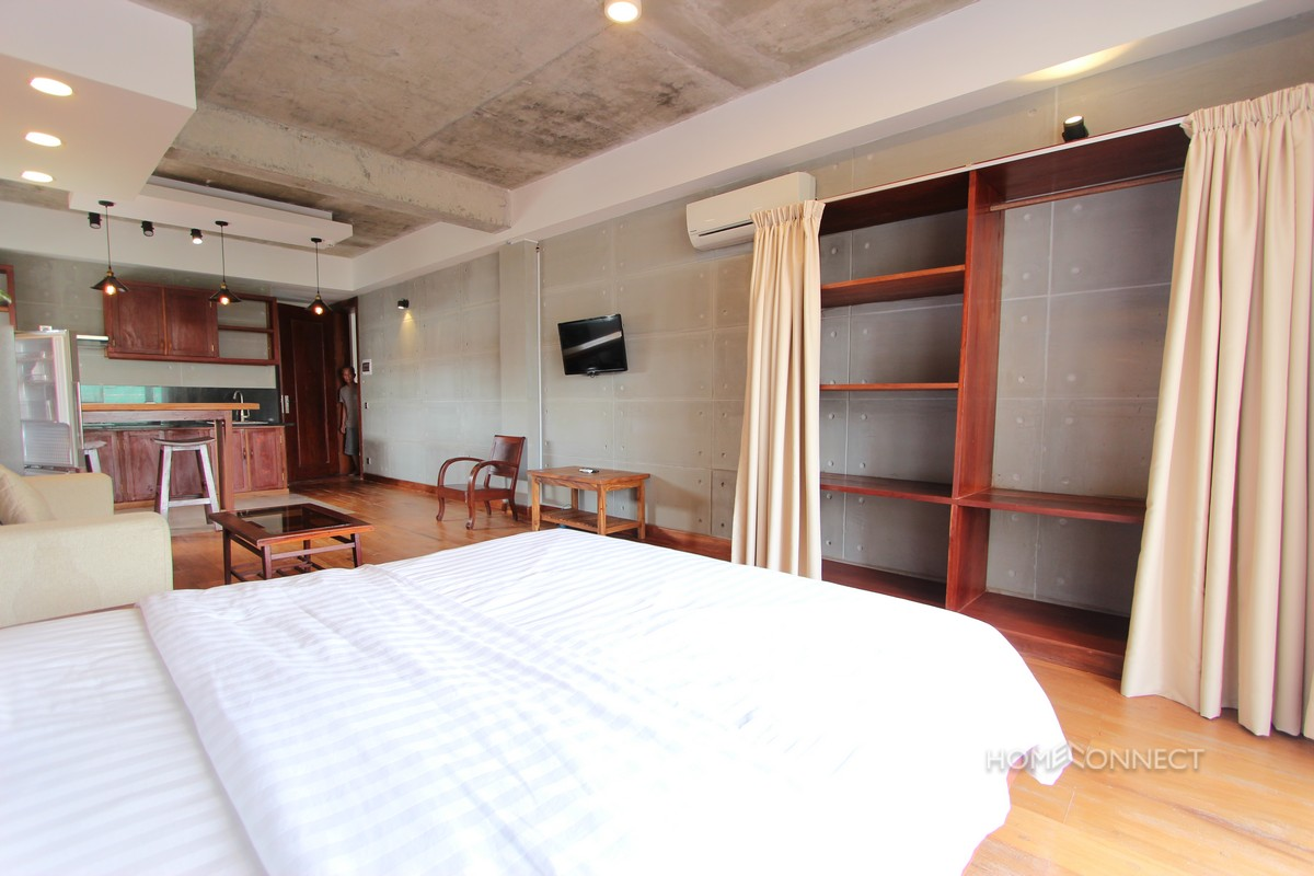 Serviced Studio Apartment for Rent in BKK1   Phnom Penh Real Estate