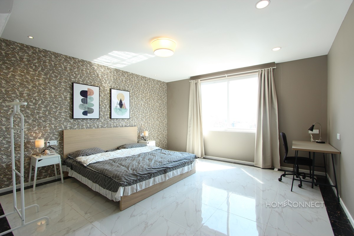 Brand New Serviced 1 Bedroom 2 Bathroom Apartment for Rent in BKK1 | Phnom Penh Real Estate