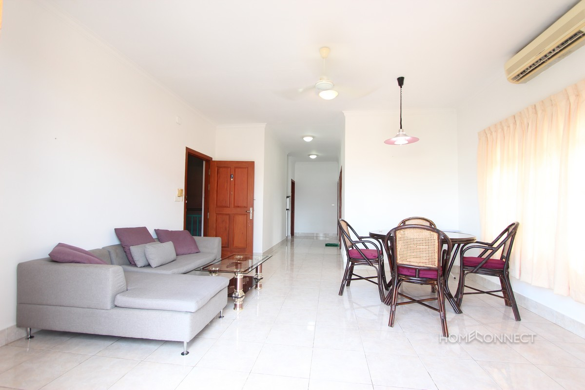 Spacious 2 Bedroom 1 Bathroom Apartment For Rent Near Central Market | Phnom Penh Real Estate