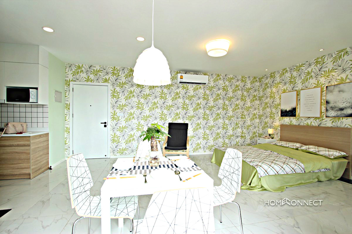 Modern Serviced Studio Apartment for Rent in BKK1   Phnom Penh Real Estate