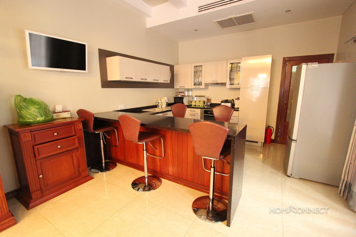 Modern 4 Bedroom Villa With Pool For Rent Near Aeon Mall | Phnom Penh Real Estate