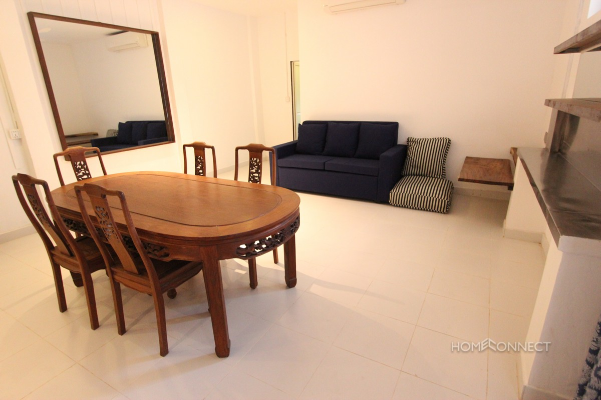 Newly Renovated Western 2 Bedroom Apartment For Rent Near Independence Monument | Phnom Penh Real Estate