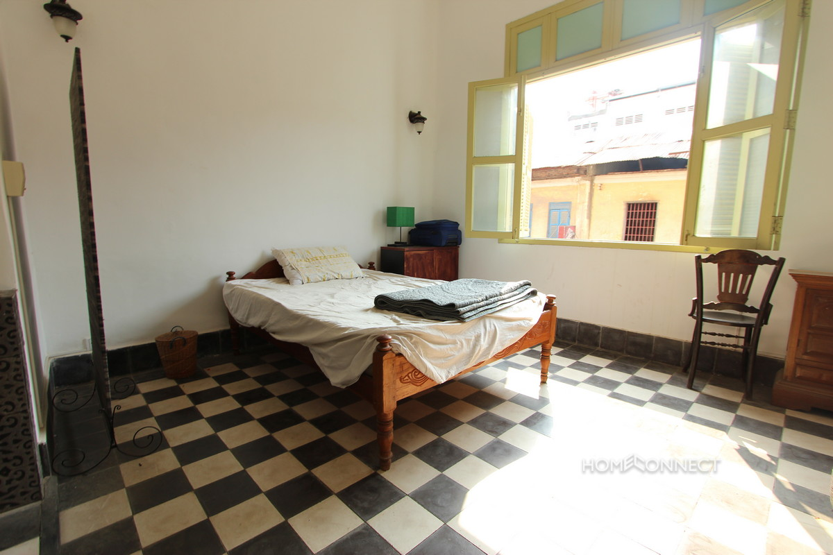 Historic French Colonial 1 Bedroom Apartment For Rent | Phnom Penh Real Estate