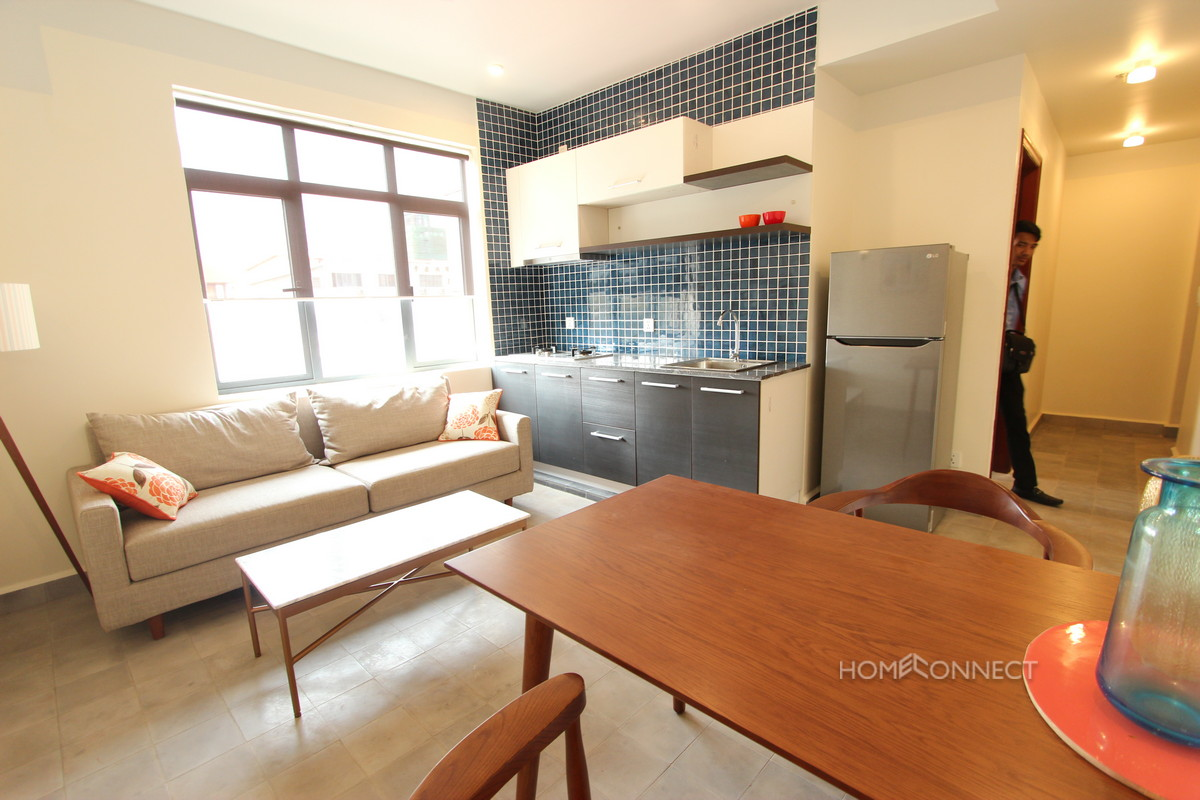Western 1 Bedroom Apartment in Wat Phnom | Phnom Penh Real Estate