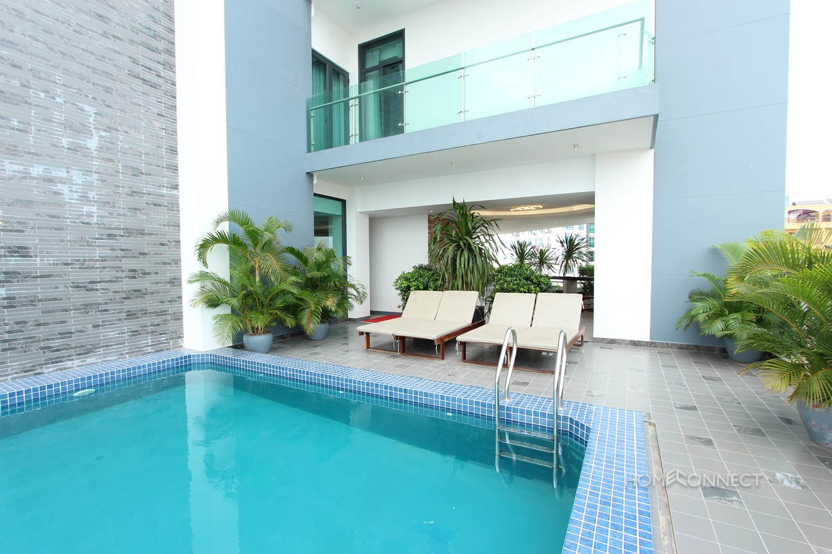 Contemporary Two Bedroom Apartment in Toul Kork   Phnom Penh Real Estate