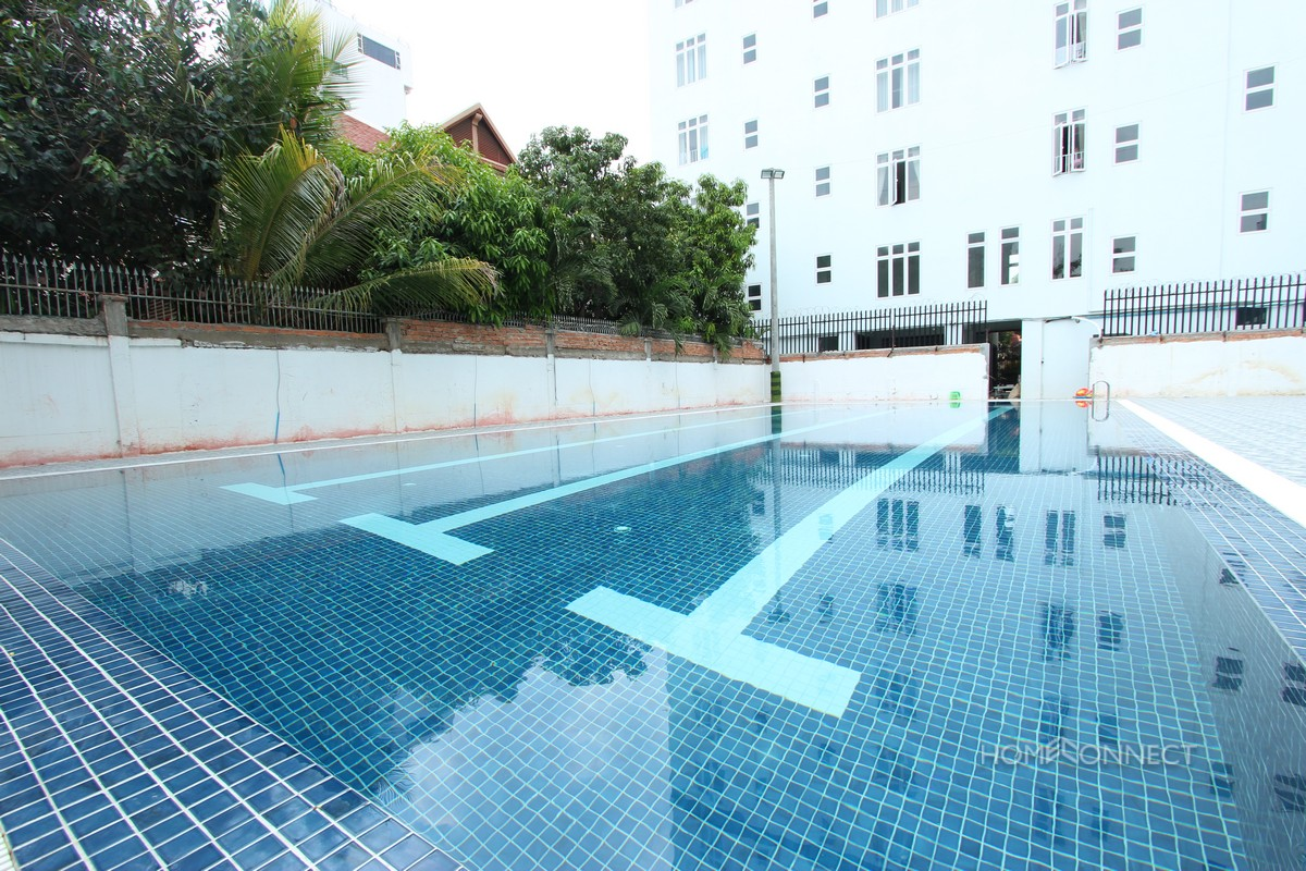 Large Pool 2 Bedroom Apartment in Russian Market | Phnom Penh Real Estate