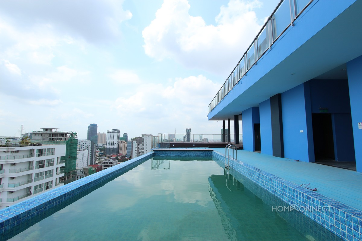 Bright Western Style 2 Bedroom in Central BKK1 | Phnom Penh Real Estate