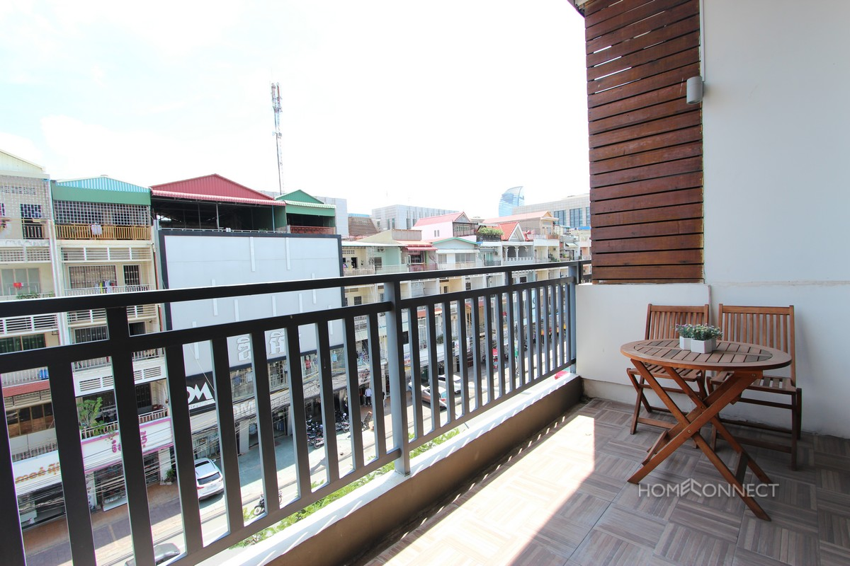 Western Style Loft Apartment For Rent in 7 Makara | Phnom Penh Real Estate